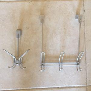 Over the door hangers (for robes & towels)